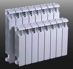 Установка секционного радиатора